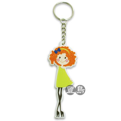 客製Q版人物鑰匙圈